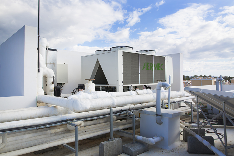 mechanical contracting - cooling system